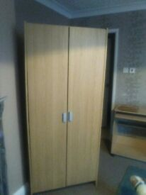wardrobe excellent beech wood finish