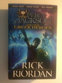 'Percy Jackson and the Greek Heroes' by Rick Riordan