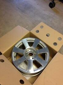 """4 x Mercedes 17"""" alloy wheels"""