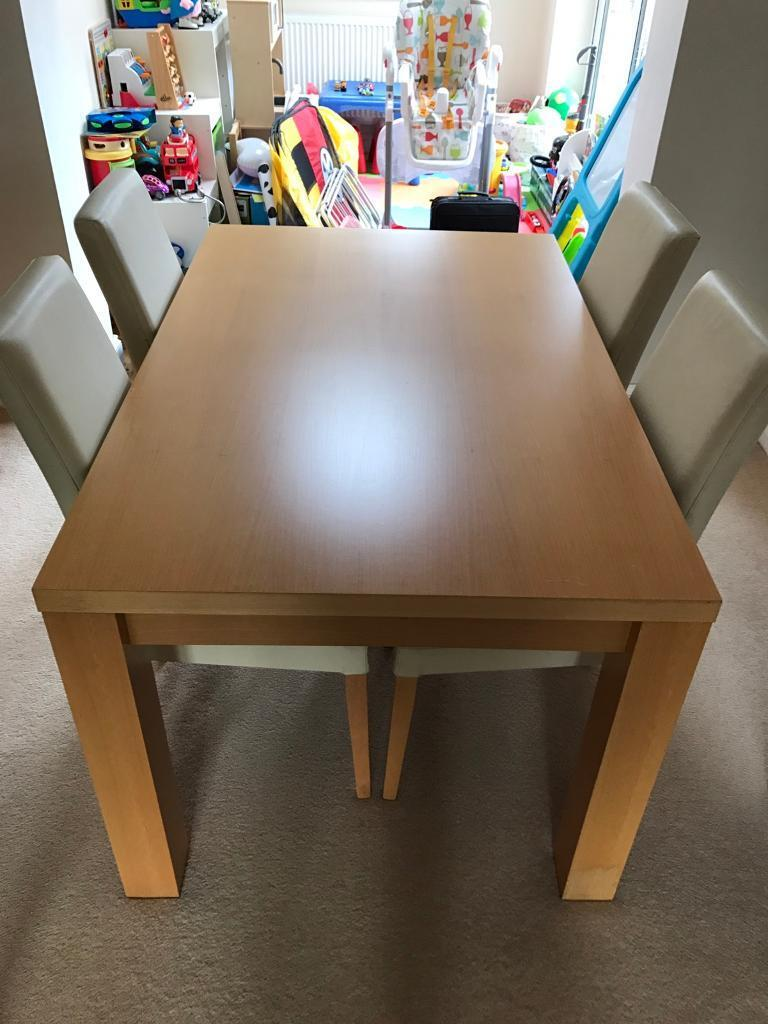 Next Oslo Beech Dining Table In Billericay Es Gumtree