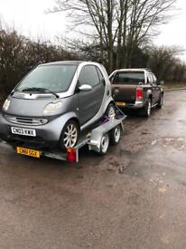 Smart car breaking complete car