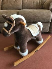 Small Child's Mamas and Papas Rocking Horse