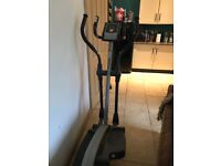 Cross trainer in good working order. Multiple resistance and workout settings with digital display.