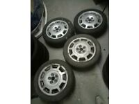 VW Golf mk3 Gti alloy wheels with tyres