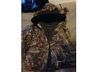 Fishing jacket and pants