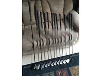 Complete set DDH McGregor Irons 3 to Sandwedge, Driver, 3 Metal & Putter.