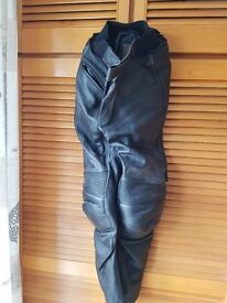 """Swift Leather MotorCycle trousers 30"""""""