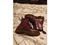 Dr Marten boots 1460 Oxblood size 9