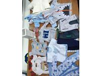 Baby boys clothes bundle 0 to 3 months