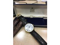 Vintage Garrard manual wind watch 34mm - excellent condition, serviced, keeping good time - £140 ONO