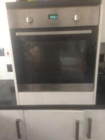 Electric integrated oven