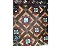 Original Reclaimed Victorian Floor Tiles