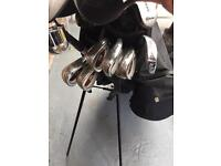 Full set of RAM golf clubs, Bag included.