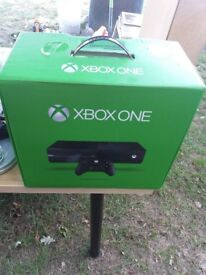 xbox one boxed excellent condition one game and controller
