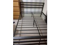 bedframe double size metal, for sale!!!!