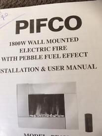 Pifco fire