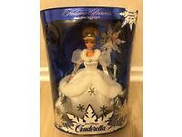 Title - Holiday Princess Cinderella BARBIE doll 1996 - First in a series LIMITED EDITION