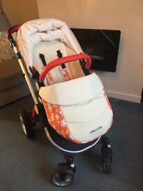 Uber child travel system, 1 year old