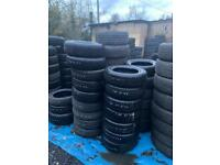 Wholesale Good Quality Part Worn, Used, Second Hand Tyres In Berkshire!