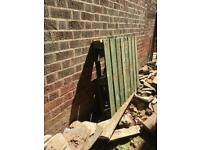 FREE Pallets allotment fencing shed fire wood