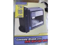 JOYTECH CONSOLE STAND & DVD STORAGE UNIT FOR PLAYSTATION 2 or SIMILAR (Brand New & Boxed)