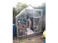 6ft by 8ft greenhouse for sale