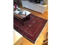 Must sell. reduced bargain, Persian rug large old 10 feet by 5 feet, 3 metres by 1.5 metres