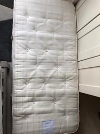 Feather and Black single mattress great condition