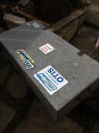 Galvanised Tool Box