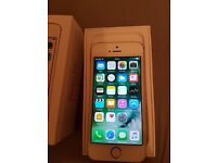 Iphone 5s 16gb on ee perfect working order touch id works comes with box and charger