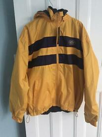 New men's raincoat