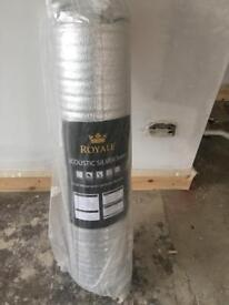 Royal acoustic silver 3mm wood and laminate underlay!