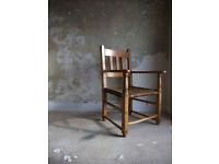 19th Century Lathe Turned Sugan Armchair