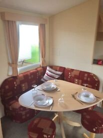 static caravan in Northumberland for sale