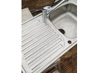 Caren Phoenix Kitchen sink with Mixture tap, BARGAIN!
