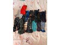 Boys 0-3 months trousers bundle