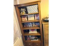 Solid OAK Bookcase/ Shelves