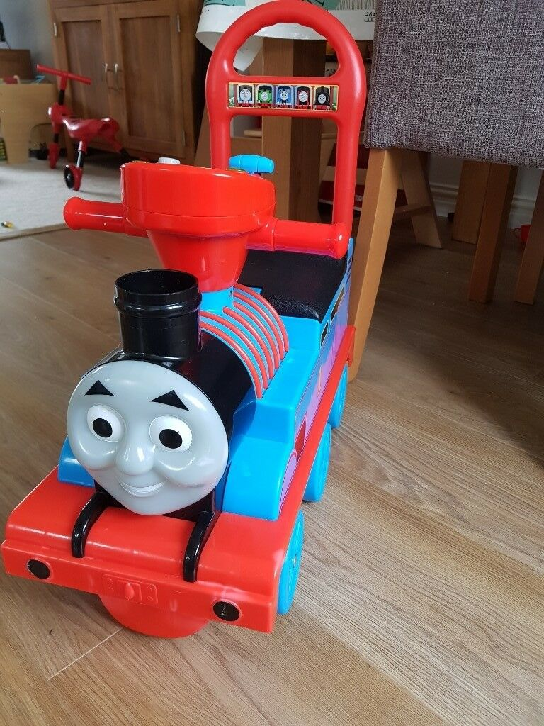 Thomas The Tank Baby Walker Ride On In Stepps Glasgow