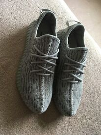 Adidas Yeezy boost 350 moonrock Kanye West trainers sneakers uk 9.5 grey