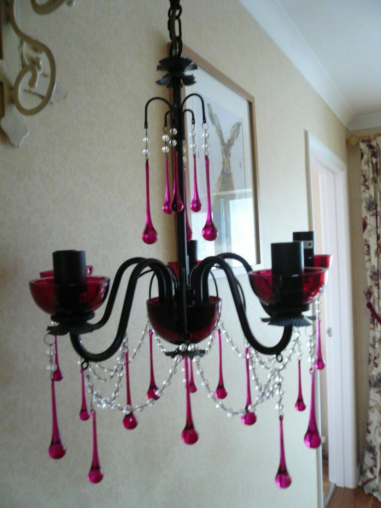 Laura ashley eleanor cranberry 5 arm chandelier rare will consider laura ashley eleanor cranberry 5 arm chandelier rare will consider offers arubaitofo Choice Image