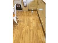 Porcelain Oak Wood Effect Tiles