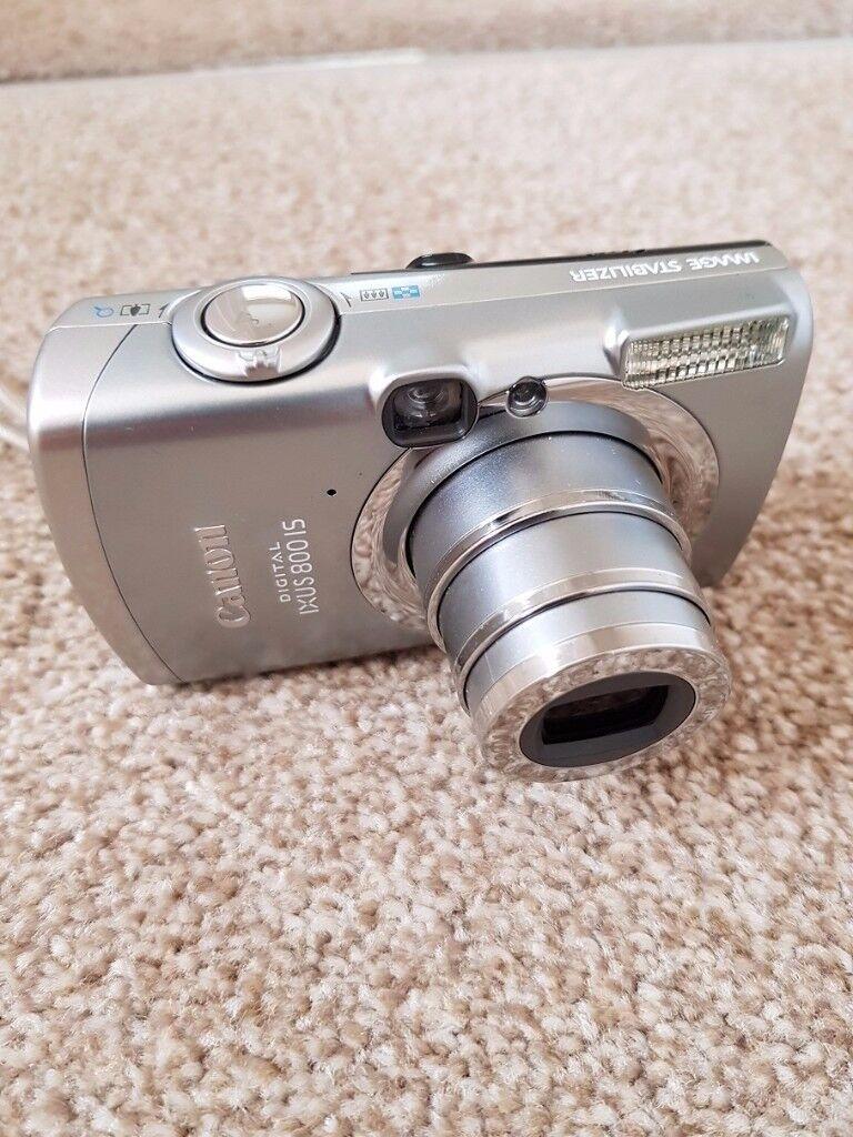 Canon Ixus 800 IS Digital Camera