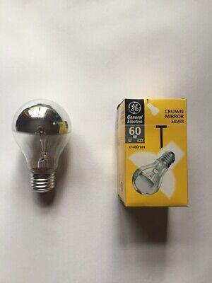 ber 60W E27 Glühlampe Kopf verspiegelt dimmbar (Kopf Spiegel)