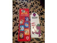NEW MAGNETIC CARTOON BOOKMARKS