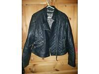Next biker style jacket size 14