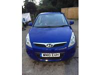 Car for sale 2010 Hyundai i20 Comfort Automatic 1.4 Petrol Blue