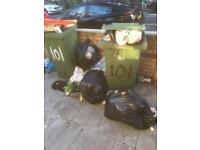Able rubbish removal, house and factory clearance and garden waste . Free Scarpe metal collection.