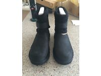 UGG Cassidee Black Suede Boots - Brand new, never been worn, still in box