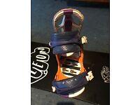 Flux Titan Snowboard bindings size medium