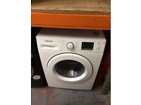 SAMSUNG 8KG WASHING MACHINE ECO BUBBLE NEW MODEL WHITE RECONDITIONED